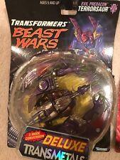 Transformers Beast Wars TM TERROSAUR figure MOC TRANSMETALS
