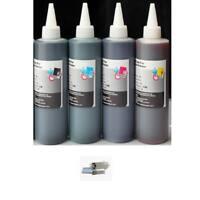 4x250ml Premium Refill ink kit for HP Canon Epson Lexmark Dell Kodak printers