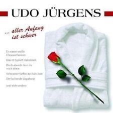 "UDO JÜRGENS ""ALLER ANFANG IST SCHWER"" CD NEW!"