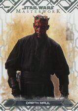 Star Wars Masterwork 2017 Base Card #5 Darth Maul