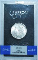 1885 CC NGC MS63 GSA Carson City Morgan Silver Dollar