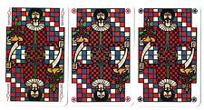 3 great piatnik jokers playing cards speelkaarten jeu de cartes spielkarten