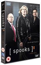 SPOOKS - SERIES 8 - DVD - REGION 2 UK
