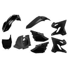 Polisport Restyle Complete Plastic Kit Set Black YAMAHA YZ125 YZ250 2002-2014