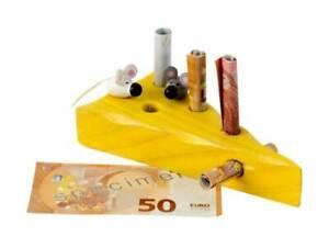 Geldgeschenk Geldgeschenkverpackung Mäuse mit Käse 13 cm Geburtstagsgeschenk