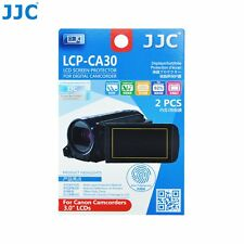 """JJC LCP-CA30 Film Screen Display Protector for CANON 3.0"""" LCD Camcorders x2"""