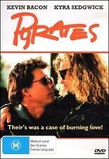 PYRATES (Kevin BACON Kyra SEDGWICK Bruce PAYNE) Romantic Comedy DVD Region 4