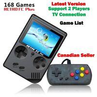 "Game boy Retro FC Plus Mini TV Video Game Console 168 Games 3"" Gamepad Nintendo"