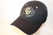 """Colorado Buffaloes FlexFit Hat Cap """"The Game Day Buff Black"""" by Zephyr NCAA Hats"""