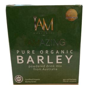 1Box IAm Amazing Barley Pure Organic Powder Drink Mix from Australia / US SELLER