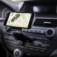 Car CD Slot Mobile Phone GPS Sat Nav Stand Holder Mount Cradle Universal New