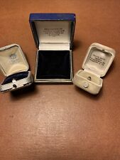 Three Vintage Ring Jewelry Boxes