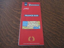 carte routiere et touristique michelin n° 919 1998 france sud