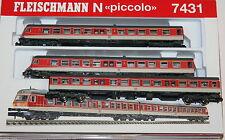 Analoge Fleischmann Modellbahnloks der Spur N
