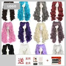 """28""""/70cm Lolita Long Curly Clip on Ponytails Cosplay Wig Anime Cosplay Wig Gift"""