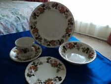 Barker Bros of Stoke on Trent England made 40 pce Dining set with  Rosina Patt.