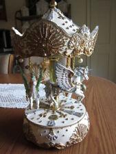 San Francisco Music Box Co Carousel Flying Horses #0768 of 5K
