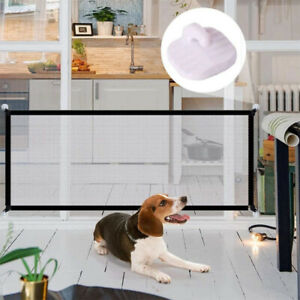 Indoor Outdoor Dog Gate Ingenious Mesh Dog Fence Safety Enclosure Pet Supplies