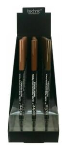 Technic Ultra Fine Micro Brow Pencil with Eyebrow Spoolie Liner Various
