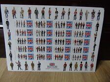 British Army Uniforms Smiler Sheet