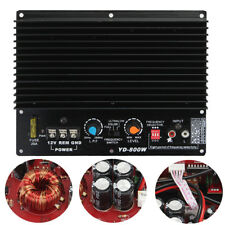 200W 12V HiFi High Power Class D Subwoofer Amplifier Board Car Audio Amp Player