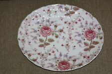 "Rose Chintz *12"" Serving Platter* Johnson Brothers Elegant China Made in England"