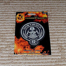 NECA Lions Gate Films Licensed 2012 Hunger Games District 12 Patch Seal! New!