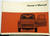 1969 Volkswagen 1600 Owners Instruction Manual - Type 3 Squareback & Fastback