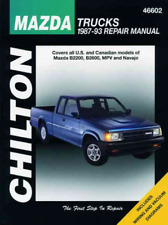 Chilton Workshop Manual Mazda B2200 B2600 MPV Navajo 1987-1993 Service Repair