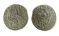 pcc1937_3) AUSTRIA 3 Kreuzer  1696 Leopold I