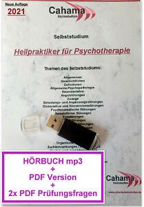 Heilpraktiker Psychotherapie HÖRBUCH + Selbststudium + Fragen, Prüfungswissen