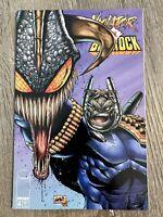 Violator vs. Badrock Image Comics Liefeld 1995 First Printing Vol 1 #4 (of 4) VF