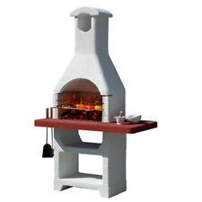 Barbecue in muratura, modello 'MARTINICA LX'. In cemento, funziona a carbonella