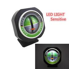 Inclinómetro Transportador De Ángulo calibre calibre medidor de nivel de inclinación de la pendiente con luz LED