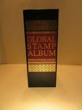 "Special Minkus Publications 4"" Global Binder Stamp Album Used Stamp Supplies"