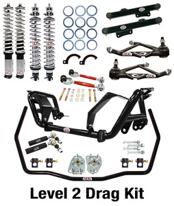 QA1 Drag Racing Level 2 Suspension Kit - Fits 1979-1989 Ford Mustang,GT,LX,5.0