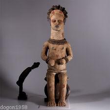9145 Extraordinaire Igbo Ikenga terracotta Figure Nigeria