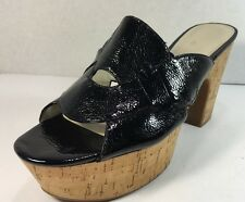 Nine West Women's Black Gotya Platform Sandals Size 11