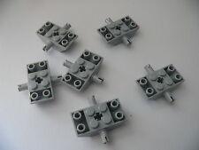 Lego 6 essieux gris clair bluish 7243 8096 7239  / 6 light bluish slope inverted