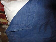 Springs Blue Denim Western (1) Standard Pillow Sham Cotton 21 X 27