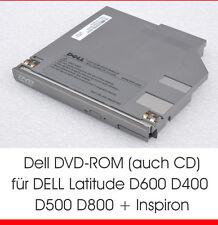 DVD-ROM FÜR DELL LATITUDE D600 D400 D500 D610 D800 D810 INSPIRON 8500 8600 CD D7