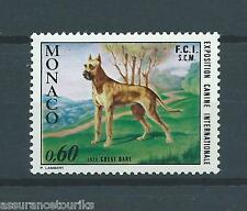 MONACO - CHIENS - 1972 YT 880 - TIMBRE NEUF** LUXE