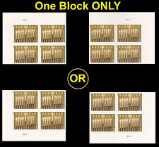 US 4824a Hanukkah imperf NDC plate block MNH 2013