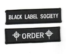 HEAVY METAL BAND BLACK LABEL SOCIETY BLS FAN CLUB CITY PATCH SET: BLS †ORDER†