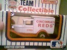 MATCHBOX 1930's cinncinnati reds world series winner truck 1990 ( nib)