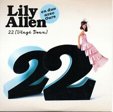 ★☆★ CD SINGLE Lily ALLEN & OURS 22 (Vingt Deux) 3-track CARD SLEEVE RARE ★☆★