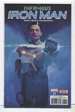 Infamous Iron Man #7 Nm Marvel Comics Cbx17