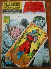CLASSICS illustrated LA PRENSA comic A CHRISTMAS CAROL spanish CHARLES DICKENS