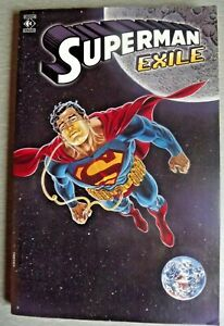 Titan Book Superman Exile Graphic Novel  From 1998