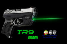 ARMALASER TR9-G Ruger LC9 LC9S LC380 GREEN LASERSIGHT w/GRIP ACTIVATION